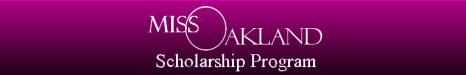 Miss Oakland Banner