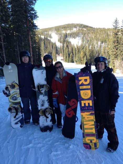 nanxi liu snowboarding