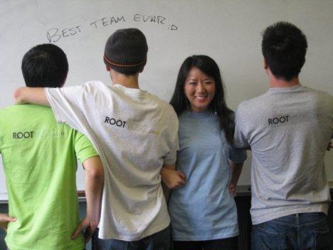 Team Root Music shirts!!