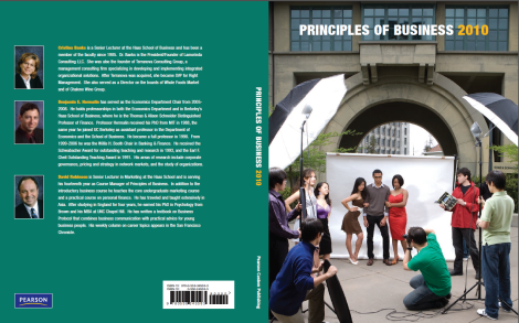UGBA10 Principles of Business Reader Cover