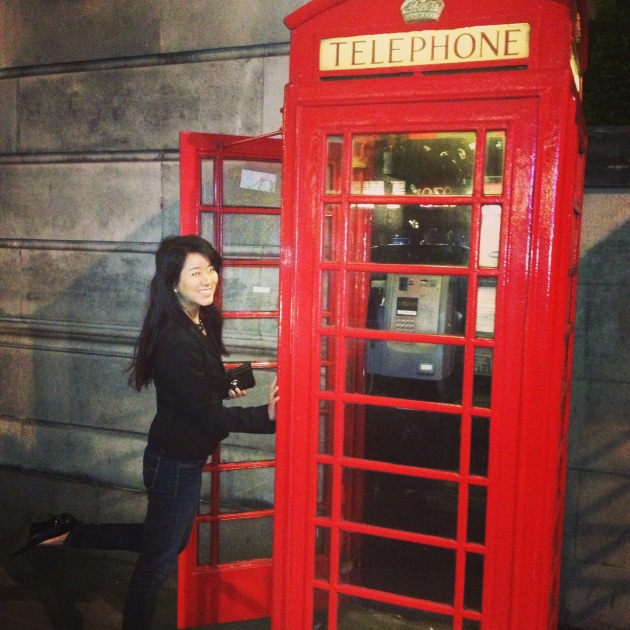Can't go to London without taking a picture with one of these!