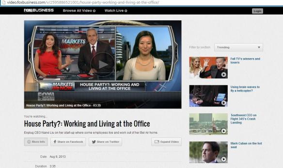 Enplug Interviews on Fox Business and Fox News | Nanxi Liu