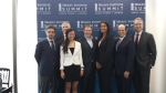 Our panel at the Milken Institute in London with Michael Milken on the far right.