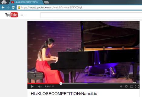 Nanxi Liu Piano